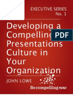 Developing a Compelling Presentations Culture eBook