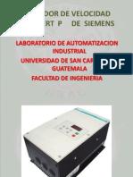 Variador de Frecuencia Simovert p Siemens-student
