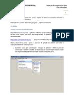 Manual Para Gerar Nota Fiscal Paulista - Bematech