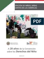 La participación de NNA en las Américas