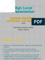 Invoice Approval and Tracking Presentation