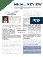 Centennial Review August/September 2013