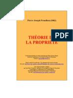 73009902 Proudhon Theorie de La Propriete 3
