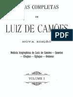 Obras Complates de Luís de Camões, vol. 1