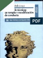 108447818 Manual de Tecnicas de Terapia y Modificacion de Conducta by Luis Vallester Psicologia Documento