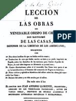 Obras de  Bartolome de Las Casas, vol. 2