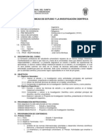 T%E9cnicas de Estudio e Investigaci%F3n Cient%EDfica
