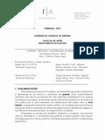 Tecnicas y Materiales de Grabado 2013