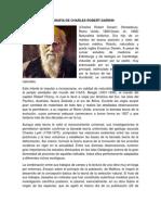 BIOGRAFÍA DE CHARLES ROBERT DARWIN