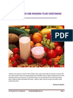 101 Reasons to Be Vegetarian