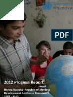 2012 Progress Report - Moldova UNDAF