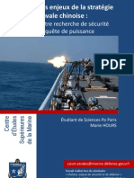 Les enjeux de la stratégie navale chinoise