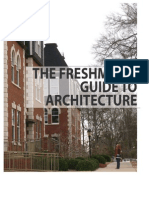 The Freshman s Guide to Architecture