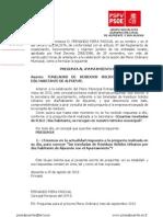 Preguntas Pleno, Falta Respuesta Secretaria Toneladas RSU 2013