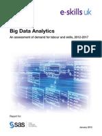 Big Data Analytics Report Jan2013