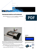 Montando Arduino Na Protoboard