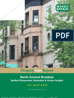 North Central Brooklyn Sales Report - 1H2013