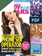 Study Breaks Magazine (AUS)- September 2013