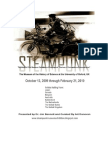 Donovan Design. Steampunk Spec Sheets