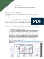 OnTarget ARA Software Instructions