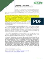 Aclaracion Sobre ISO 17020