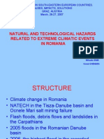 Natural and Technological Hazards