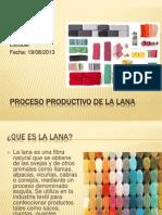 Proceso Productivo Del Lana