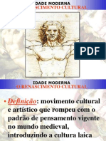 Renascimento Cultural (1 e 3 Ano)