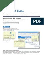 Web Standard Quick Start Guide
