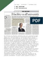 Collaborazione Prelios Integra e Politecnico Milano  - Massimo Caputi