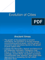 4.Evolution of Cities