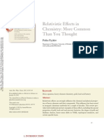 (2012) Relativistic Effects in Chemistry More Common Than You Thought