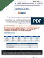 ValuEngine Weekly:Pepsi,Textron,Construction Stocks, and Suttmeier