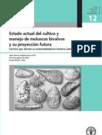 FAO 012 Estado Actual Del Cultivo y Manejo de Moluscos Bivalvos y Su Proyeccion Futura