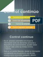 Control Continuo