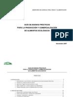 Guía de Buenas Prácticas para la Producción y Comercialización de Alimentos Ecológicos