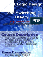 ECE103 Logic Design and Switching Theory Introduction and Chapter 1