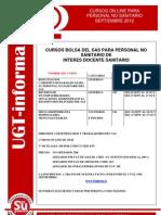 Ugt-Informa Cursos on Line Septiembre