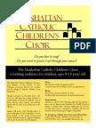 Manhattan Childrens Choir