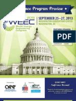2013 World Energy Engineering Congress Preview Brochure