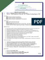 Trainer API Ndt Welding Qaqc Aws Asme Sixsigma Iso Softskill Profile Vedagiri Umashankar Chennai India 9600162099