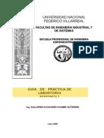 Guia de Practicas Bioquimica I-2009