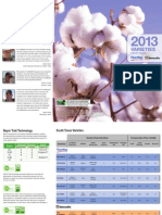 Fibermax and Stoneville - 2013 South Texas Cotton Variety Guide