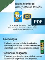 Toxicología y Fluorescentes