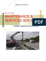 Syas Maintenance Profile- By Ismadi