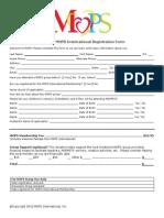MOPS 2013-14 Registration Form