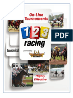 123 Free Play Handicapping Contest Overview - Horseshoe Marketing