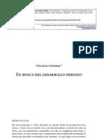 Sunkel Oswaldo - En Busca Del Desarrollo Perdido
