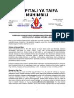 Revised Taarifa Kwa Wananchi Kuhusu Uboreshaji Wa Huduma Za Tiba Hospitali Ya Taifa Muhimili Septemba 2 (3)