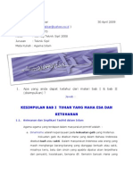 Tugas Agama Islam 2009_Nuh AKbar